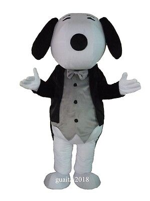 Mascot Gentleman Snoopy Costume suits Adults Costume Party Fancy Dress Outfit](Snoopy Mascot Costume)