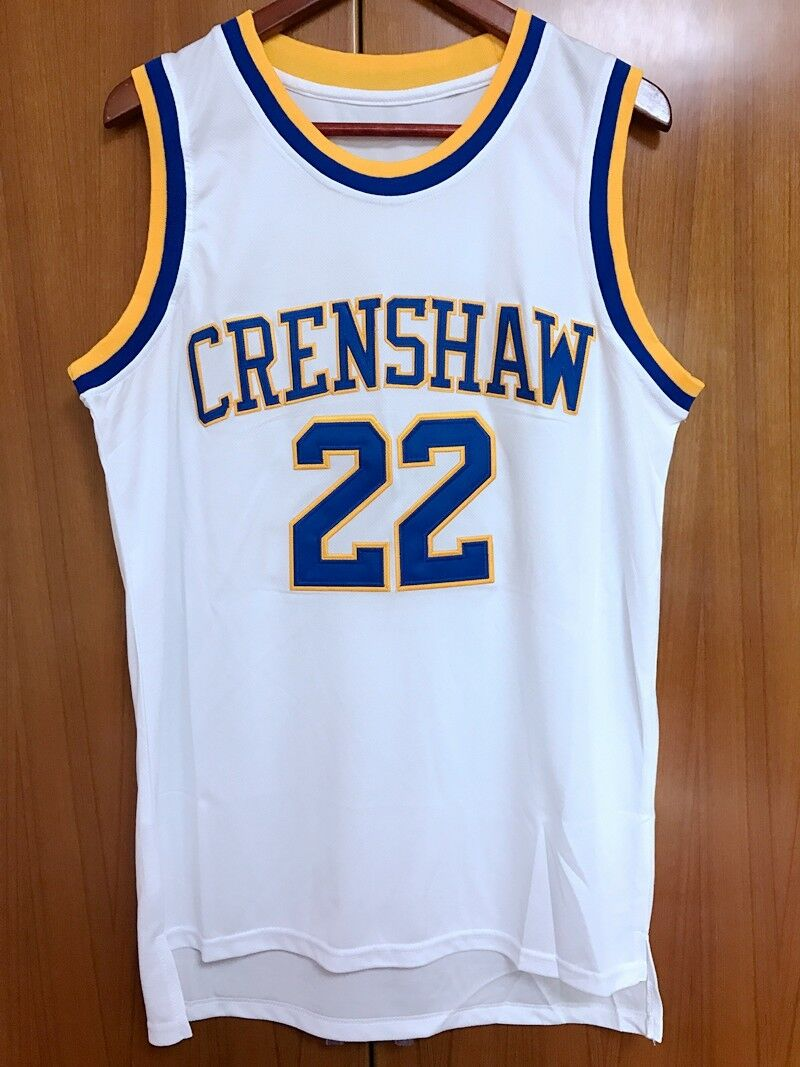 b411c1c19d0f Quincy McCall  22 Crenshaw High School Basketball Jersey Movie Love ...