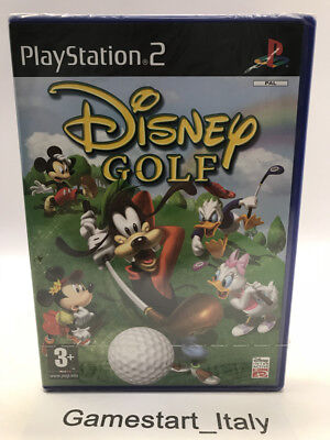 DISNEY GOLF - PS2 - VIDEOGIOCO NUOVO SIGILLATO - NEW SEALED PAL...