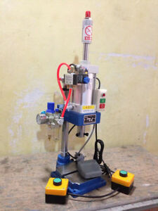 Industry Desktop Machine: 200kg Pneumatic Press with 2 Buttons Punch Press New