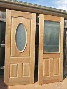 Entrance door- Glass insert $150.00 each