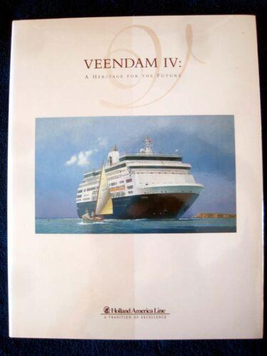 MS VEENDAM IV -- Inaugural Book, 1996 -- Holland America Line