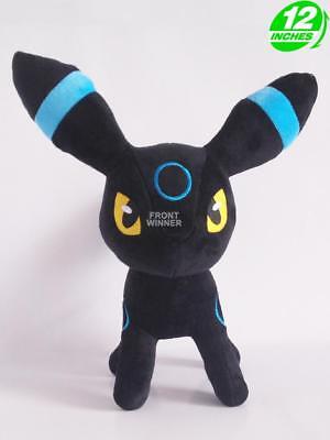 Used, 12'' Shiny Umbreon Plush Pokemon Anime Stuff Animal Doll PNPL2068 for sale  Shipping to Canada