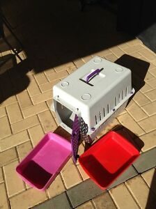 Cat Carry Box & Litter Trays Baldivis Rockingham Area Preview