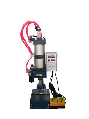 Intbuying Pneumatic Press Punch Machine For Sheet Metal Hole 1ton Pressure 110v