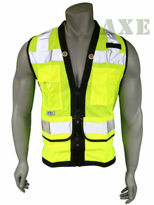 Pyramex Safety Vest Class 2 Heavy Duty Surveyor