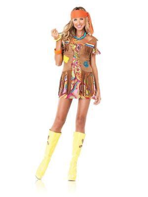 Love Child Hippie Costume 1960's Leg Avenue 83526 sizes s/m m/l xl