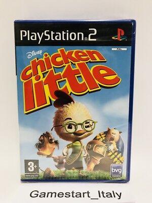 DISNEY CHICKEN LITTLE - SONY PS2 - VIDEOGIOCO NUOVO SIGILLATO - NEW...