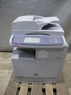 Samsung Multiexpress C8380ND Farb Laser Multifunktionsgerät Drucker Scan #21929