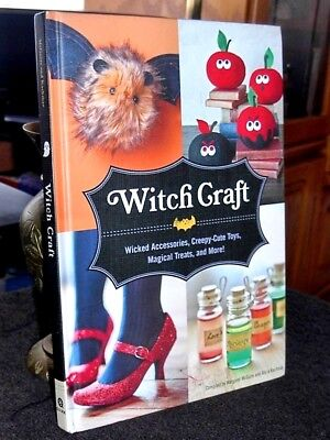 Witch Craft Creepy Cute Toys and More by McGuire, Kachmar HC Halloween - Cute Halloween Illustrations