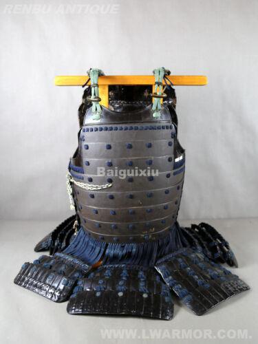 EDO antique【Sabiji Nuri dou】japanese samurai armor yoroi