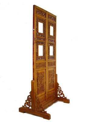 Купить Chinese Antique Open Carved Screen/Room divider w/Stand 20P41
