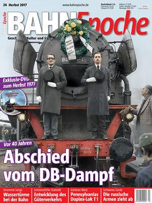 BahnEpoche 24 Abschied vom DB-Dampf mit DVD