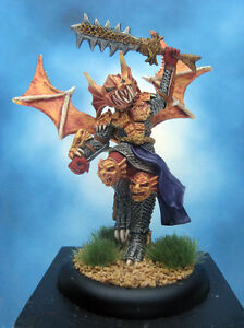 Painted-Ral-Partha-Crucible-Miniature-High-Elf-Draconian-Knight
