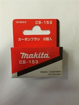 Makita 1806b Planer Cb155 Carbon Brushes Hr5001c Part 181044-0
