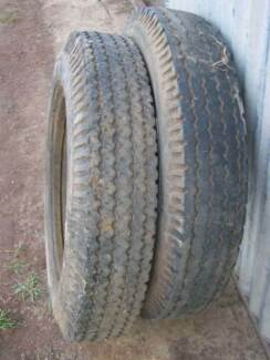 Secondhand 7.00x20 truck tyres Balaklava Wakefield Area Preview