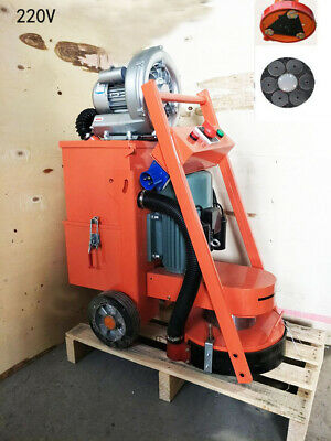 Hand-push Industrial Concrete Floor Cement Ground Grinder With Fan 220v Hot Sale