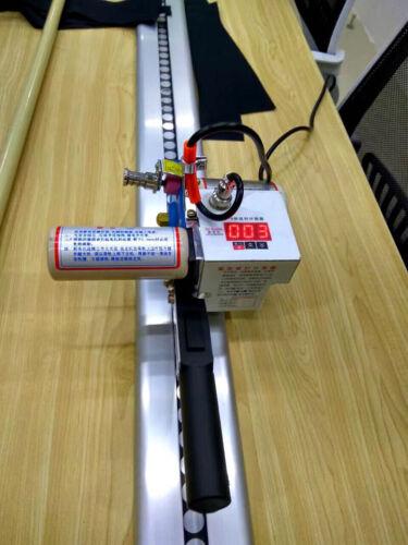 "INTBUYING 220V Fbric Cutter Cloth w/86"" Rack & Digital Counter Delay Function"