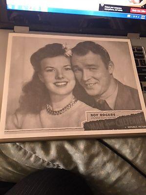"Roy Rogers Man From Cheyenne 8x10"" Photo copy mat fini"