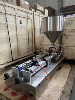 Enhanced Paste Liquid Filling Machine 100-1000ml Bottlesbags Etc. 2 Head Us