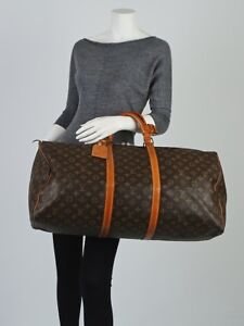 Authentique Louis Vuitton traveling keepall 60