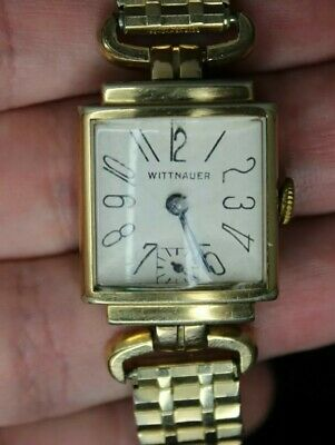 Vintage Wittnauer By Longines Working Manual wind Square Face wristwatch