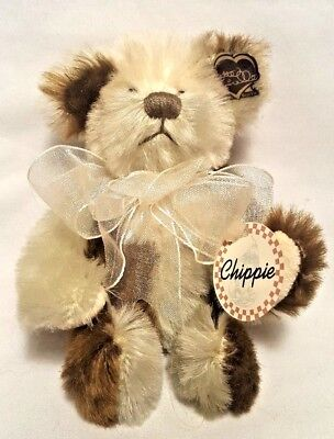 """Annette Funicello Mohair Teddy Bear 5"""" Chippie Limited Edition"""