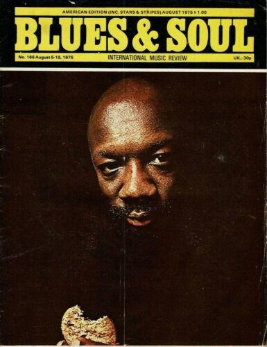 Blues & Soul Magazine 1975  Isaac Hayes Esther Phillips Betty Davis Natalie Cole