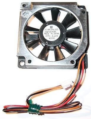 Matsushita / Panasonic Thin 5v - 45mm Computer Japan Made Fan W/ 3 Pin Plug