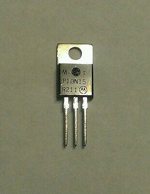 Motorola Mtp10n15 N-channel Tmos Power Fet Rfp10n15 Mosfet 5 Pieces