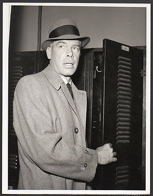 LEE MARVIN as Police Dectective in M SQUAD 1950's TV series VINTAGE ORIG PHOTO