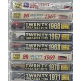 160 GREATEST HITS 60's/70's POP Rock COUNTRY Blues RARE  NEW 8-CASSETTE Set