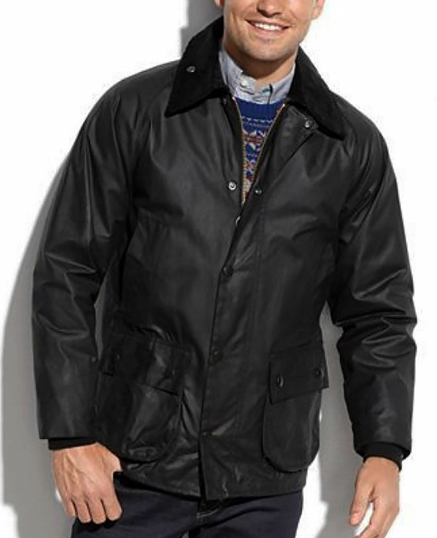 Men's Barbour 'Bedale' Regular Fit Waxed Cotton Jacket, Size