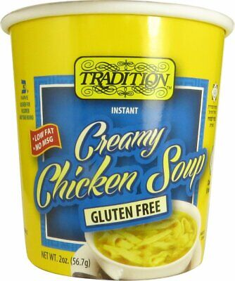 Tradition Gluten Free Imitation Creamy Chicken Instant Noodle Soup 2 Oz (12 Pk)