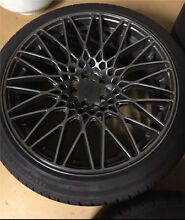 XXR 553 wheels 18inch multi stud with near new tyres Noble Park Greater Dandenong Preview