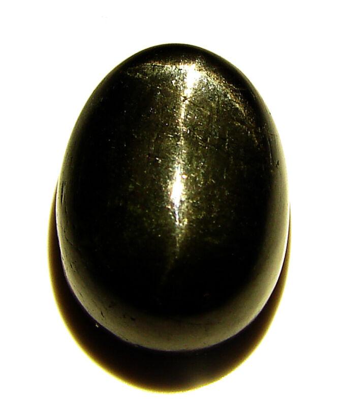 33.85 Ct Natural Black Star Diopside Cabochon Loose Gemstone Cab Stone - 35004