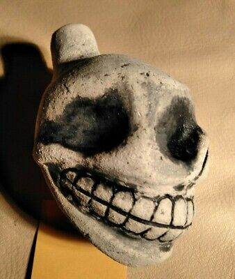 Aztec Mayan Death Whistle Ceramic