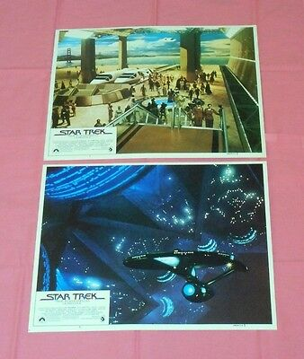 original Spanish-language STAR TREK THE MOTION PICTURE LOBBY CARD LOT x2