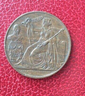Belgique - Léopold Ier - Très Jolie 5 centimes 1856 cuivre Commémorative 1831-56