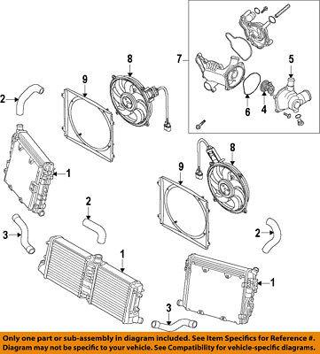 AUDI OEM 08-12 R8-Engine Water Pump Gasket 079121119C