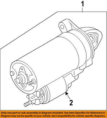 BMW OEM 10-15 760Li-Starter Motor 12417579152