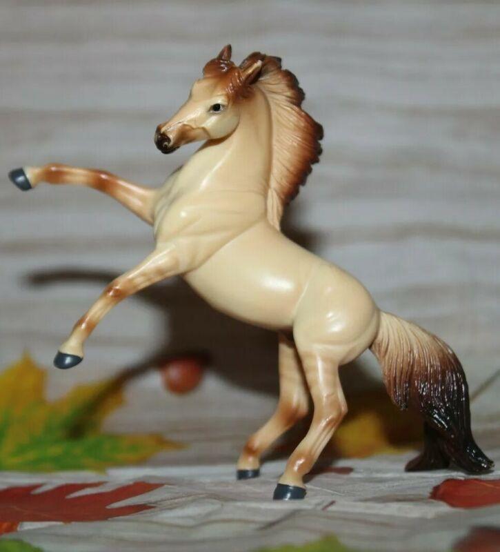 #5971 🐴Breyer Stablemate Horse, Dun, Rearing Andalusian G4