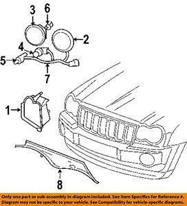 jeep grand cherokee headlight covers ebay. Black Bedroom Furniture Sets. Home Design Ideas