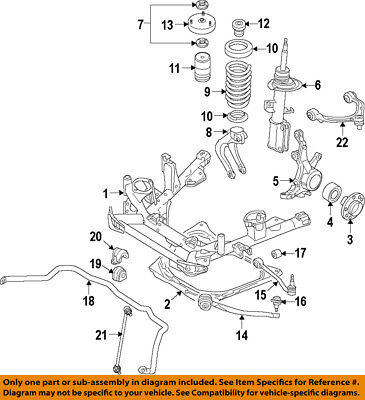 BMW OEM 07-13 X5 Lower Control Arm-Front-Rear Arm 31126771893