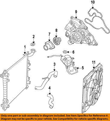 CHRYSLER OEM-Radiator 55038001AH