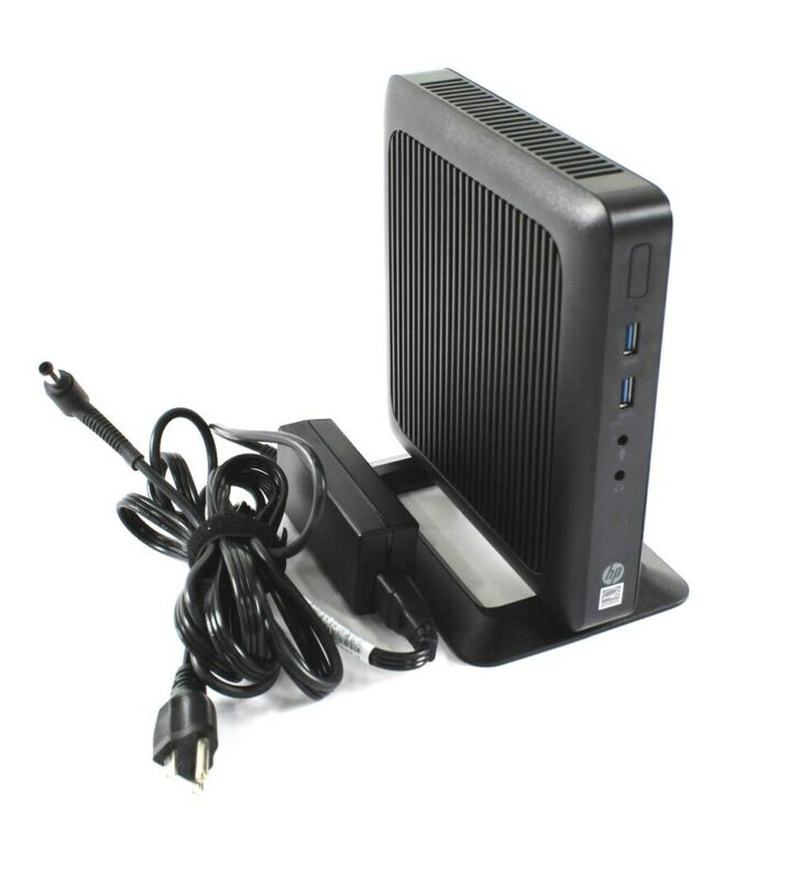 HP T520 Thin Client AMD GX-212JC 1.20GHz 4GB RAM 16GB SSD Flash w/ Stand