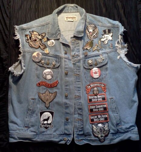 JOHN KAY & STEPPENWOLF signed AUTOGRAPHED memorial jacket / vest for CHARITY