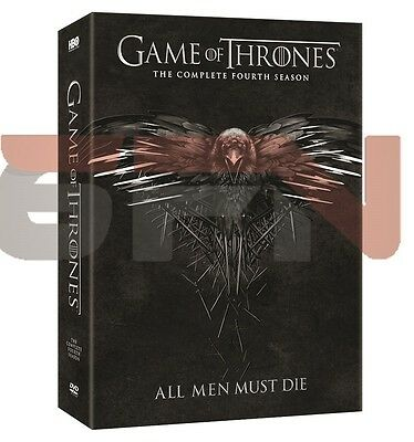 Game Of Thrones  Fourth Complete Season 4  Dvd  2015  Brand New