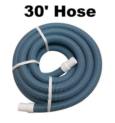 "1.5"" Dia. Heavy Duty Spiral Wound Swimming Pool Vac Vacuum Hose - 30'"