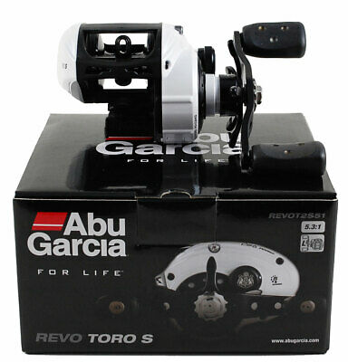 ABU GARCIA REVO TORO S REVOT2S51 5.3:1 LEFT HAND BAIT CAST REEL #1365389